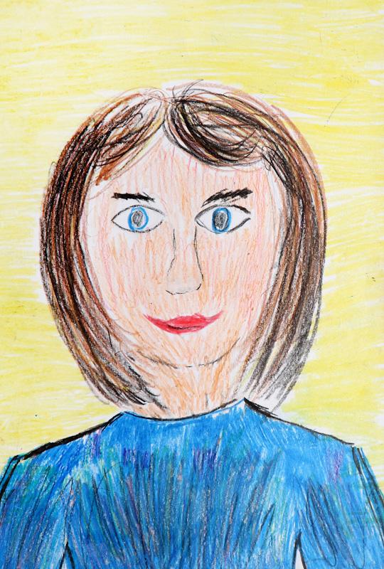 Учусь рисовать карандашом портрет для начинающих поэтапно